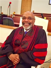 Rev. Dr. James E. Potts, Vice-President at Large of the   General Missionary Baptist Convention of Georgia.